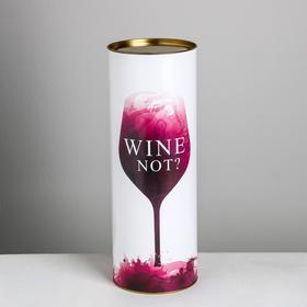 Тубус под бутылку Wine, 12 х 34 см