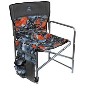 Кресло складное КС1, 49 х 49 х 72 см, кленовые листья Ош