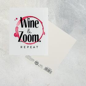 Открытка «Wine Zoom», 8,8 х 10,7см Ош