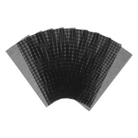 Сетка абразивная TUNDRA, водостойкая, корунд, 115 х 280 мм, Р200, 10 шт. Ош