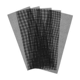 Сетка абразивная TUNDRA PRO, водостойкая, карбид кремния, 115 х 280 мм, Р200, 5 шт. Ош