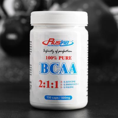 BCAA 100%, 2:1:1,  150*500 мг, 93 г - Фото 1