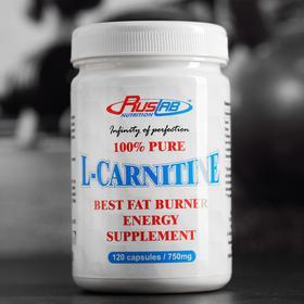 L-Carnitine 100% Pure, 120*750, 102 г