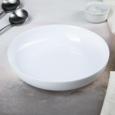 Блюдо Friends' time tajine cous dinner, d=21 см, цвет белый - Фото 1