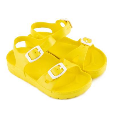 Сандалии детские, цвет жёлтый, размер 28 - Фото 1