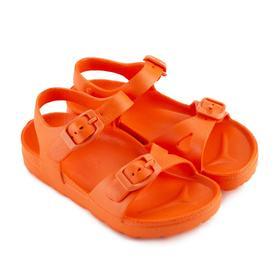Сандалии детские, цвет оранжевый, размер 28