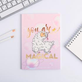 Ежедневник внутрянка в точку You are magical, А5, 64 листа Ош