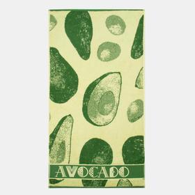 Полотенце махровое «Avocado» 50х90 см, 460г/м2