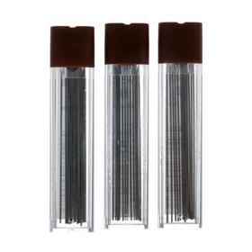 Набор грифелей для механических карандашей 3 футляра 0.5 мм Koh-I-Noor 4152 B, 12 штук в футляре (1161796)
