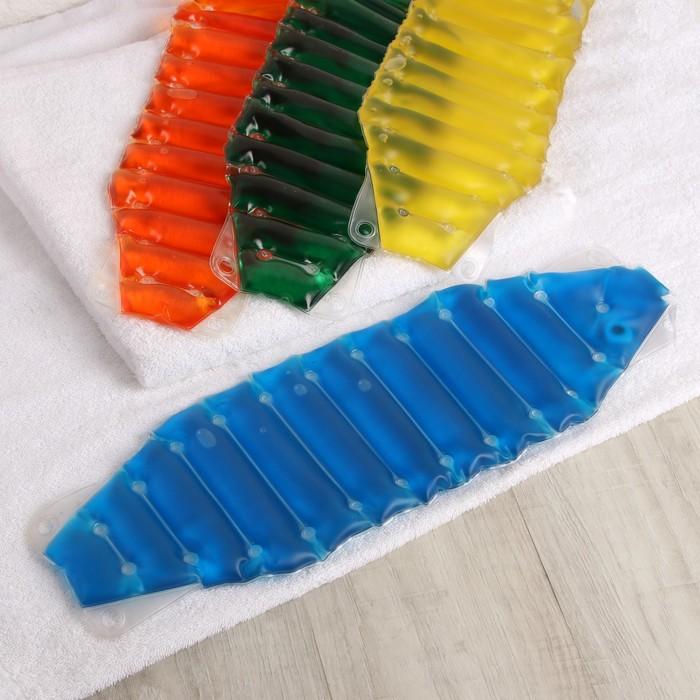 Грелка солевая медицинская физиотерапевтическая «Пояс», цвет МИКС
