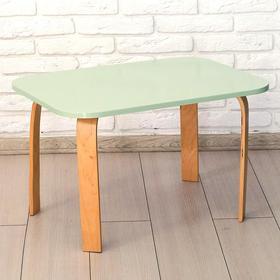 Стол детский «Мордочка» 700×500×460, цвет салатовый Ош