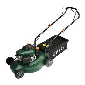 Газонокосилка бензиновая Oasis GB-15, 1500 Вт, 3 л.с., ширина/высота 400/25-75 мм, 40 л