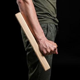 """Сувенирное деревянное оружие """"Тонфа"""" 40 см, массив бука"""