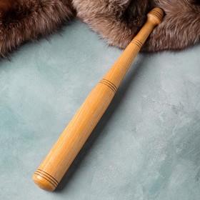 Бита бейсбольная, массив бука, 60 см Ош