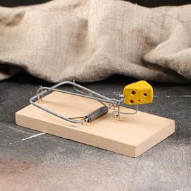 Мышеловка деревянная 'Ретро', 120 х 60 х 1 см Ош