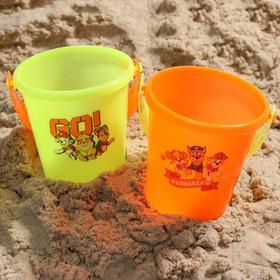 Ведро для игры с песком Paw Patrol