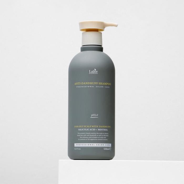 La'dor Слабокислотный шампунь против перхоти Anti Dandruff Shampoo 530 мл