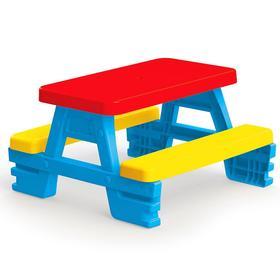Стол-пикник для 4 детей, 78х71х43 см