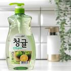 LION Концентрированное средство для мытья посуды Chamgreen Зеленый цитрус, флакон, 965 мл
