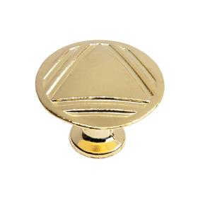 Ручка кнопка РК014GP, цвет золото Ош