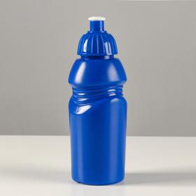 Бутылка для воды 400 мл, велосипедная, с соской, 18х6.2х6.2 см , микс Ош