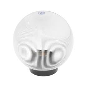 Светильник уличный ITALMAC Palla 20 02 30, шар, d=200мм,IP44,основание,Е27,прозрачная призма