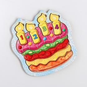 Пазл «Клубничный торт»