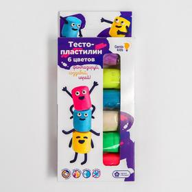 Тесто-пластилин 6 цветов TA1090