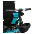 """Велосипед трёхколёсный Micio Veloce+, колёса EVA 10""""/8"""", цвет изумрудный - Фото 8"""