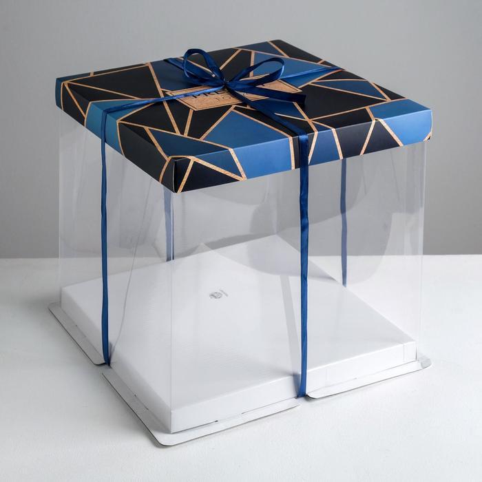 Складная коробка под торт Present for you, 30 ? 30 см