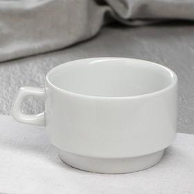 """Чашка для кофе """"Рест"""", белая, 250 мл, 1 сорт"""