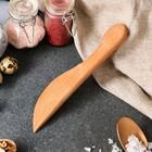 Нож деревянный, для масла, 20 см, массив дуба - Фото 2