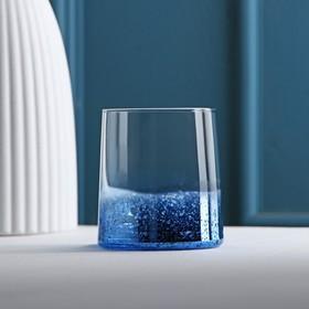 Стакан «Мерцание», 200 мл, 7,5×8,5 см, цвет синий