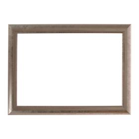 Рама для картин (зеркал) 21 х 30 х 2.7 см, пластиковая, Calligrata, серебро Ош