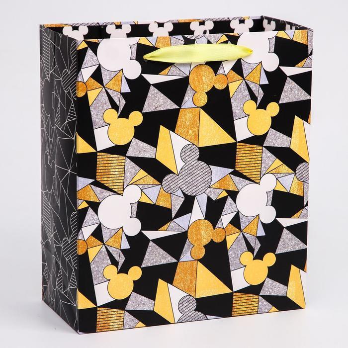 Пакет ламинат вертикальный Микки, Микки Маус, 23х27х11,5 см
