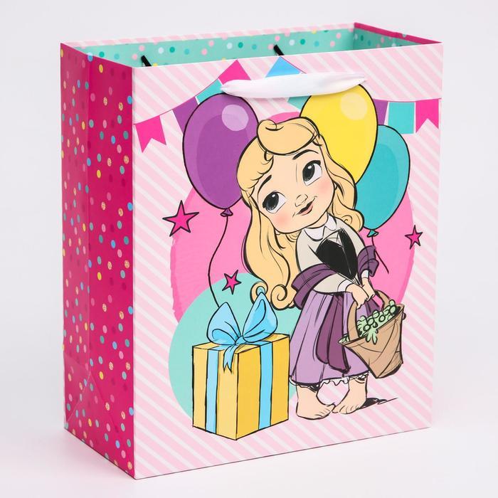 Пакет ламинат вертикальный Принцессы, Принцессы, 23х27х11,5 см