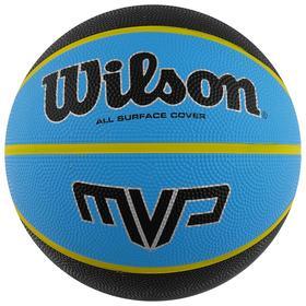 Мяч баскетбольный WILSON MVP, арт.WTB9019XB07, размер 7, резина, бутиловая камера