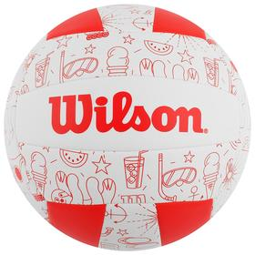 Мяч волейбольный Wilson Seasonal, арт.WTH10320XB, размер 5, 18 панелей, композитная кожа, машинная сшивка