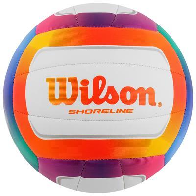 Мяч волейбольный Wilson Shoreline, арт. WTH12020XB, размер 5, 18 панелей, синтетическая кожа PVC, машинная сшивка