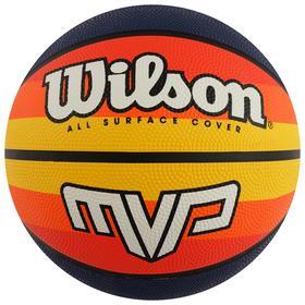 Мяч баскетбольный WILSON MVP Retro, арт.WTB9016XB07, размер 7, резина, бутиловая камера
