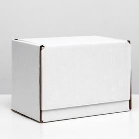 Коробка самосборная, белая, 26,5 х 16,5 х 19 см Ош