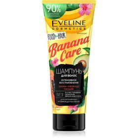 Шампунь Eveline Food For Hair Banana Care, защита цвета и восстановление, 250 мл