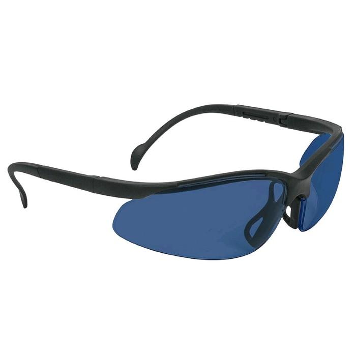 Защитные очки Truper 14303, голубые, поликарбонат