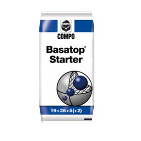 Комплексное гранулированное удобрение Compo  для Газонов Basatop Starter, 25 кг Ош