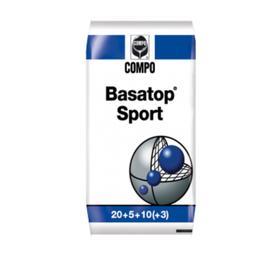 Комплексное гранулированное удобрение Compo  для Газонов Basatop Sport, 25 кг Ош