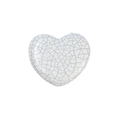"""Ручка керамическая для мебели BLUMEN HAUS """"Сердце"""", белый - Фото 1"""