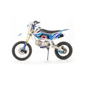Питбайк MotoLand APEX125 E, синий