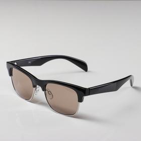 Солнцезащитные очки SPG (реабилитационные) luxury, AS110 черный-серебро