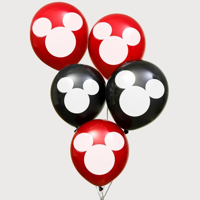 "Воздушные шары ""Mickey"", Микки Маус, 12 дюйм (набор 25 шт)"
