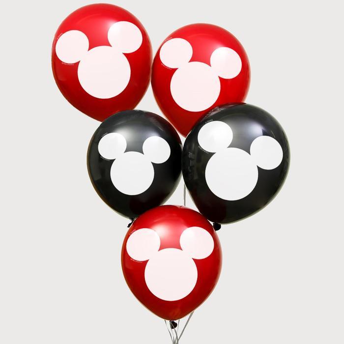 "Воздушные шары ""Mickey"", Микки Маус, 12 дюйм (набор 50 шт)"